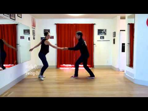 Learn to Swing Dance Lindy Hop | Level 6 Lesson 9 (Performance Swing-Outs) | Shauna Marble
