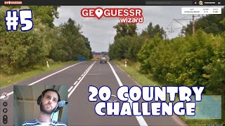 Geoguessr - 20 Country Challenge - Attempt #5