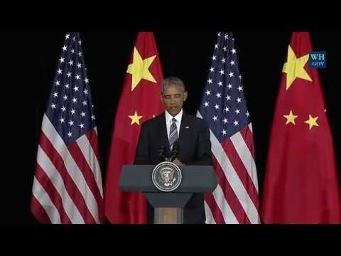 Obama Answers Questions In China - Full Press Conference