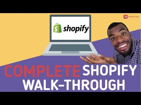 Build A MONEY MAKING Shopify Website From Scratch.... | Shopify Store Tutorial thumbnail