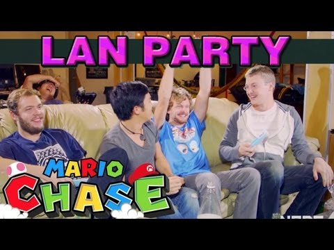 Nintendo Land: Mario Chase with freddiew and corridordigital on LAN Party - NODE