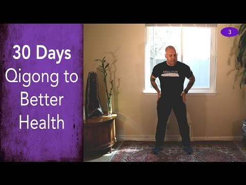 Day #3 - Brushing the Meridians - 30 Days of Qigong to Better Health