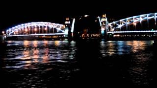 Больше охтинский мост Питер