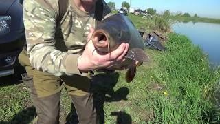 Рыбалка на озере Игумное.24.05.2017.Р.К.''Стрелецкий ручей''