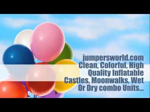 USA Bounce House For Outdoor Party; Orlando Inflatable Jumpers Rental