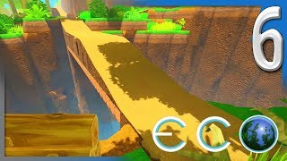 MAKING RAMPS AND BUILDING BRIDGES | ECO Multiplayer Gameplay E6