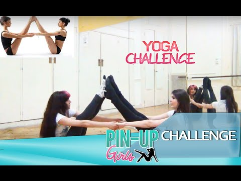 Yoga Challenge Pin Up Girls Youtube