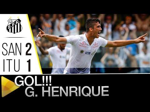Santos 2 x 1 Ituano | GOL DO GUSTAVO HENRIQUE | Paulistão (06/02/2016)