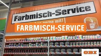 OBI Farbmisch-Service