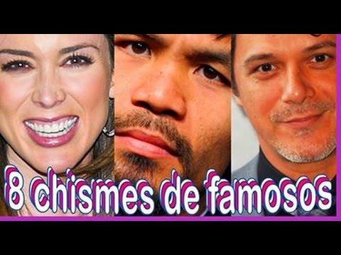 8 chismes de famosos noticias recientes 2016 youtube Chismes de famosos argentinos 2016