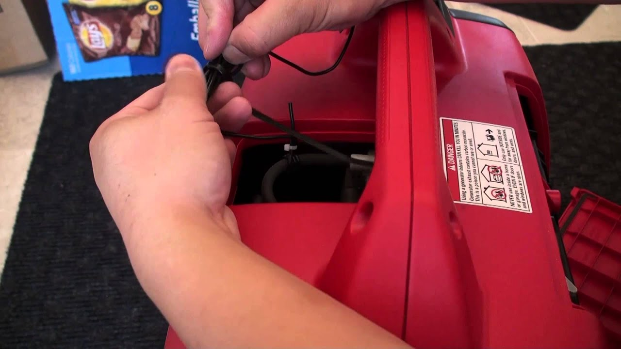 Installing a hour meter and tachometer on a Honda EU2000i generator