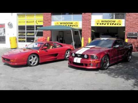 Chicago Cars Direct >> ROUSH MUSTANG VS FERRARI 2 - YouTube