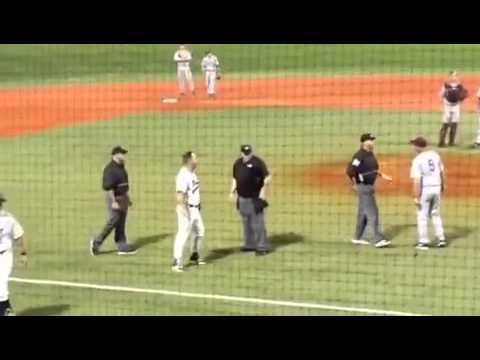 VIDEO: Central Arkansas, Arkansas-Little Rock engage in ugly brawl