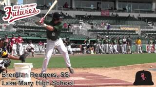 Brendan Rodgers Prospect Video, SS, Lake Mary High School Class of 2015 #mlbdraft