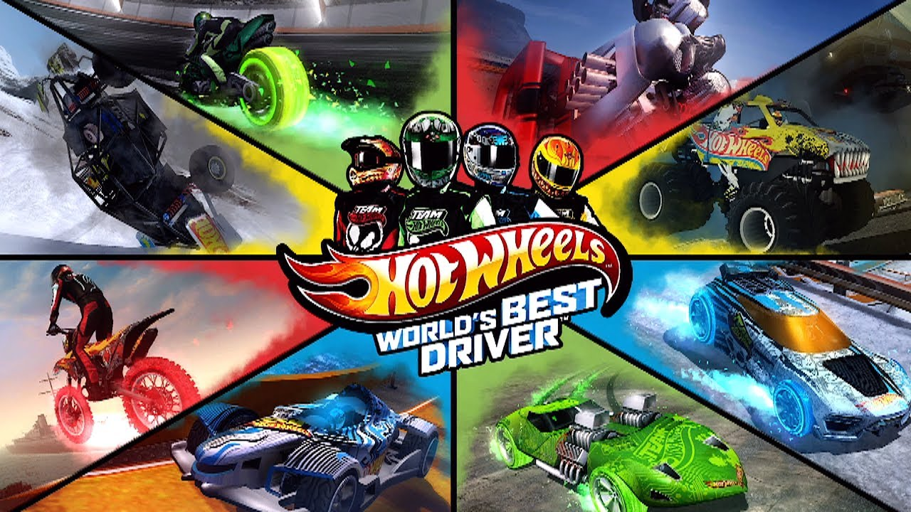 Hot Wheels Fotos ~ First 30 Minutes Hot Wheels World's Best Driver [XBOX360 PS3 WIIU] YouTube