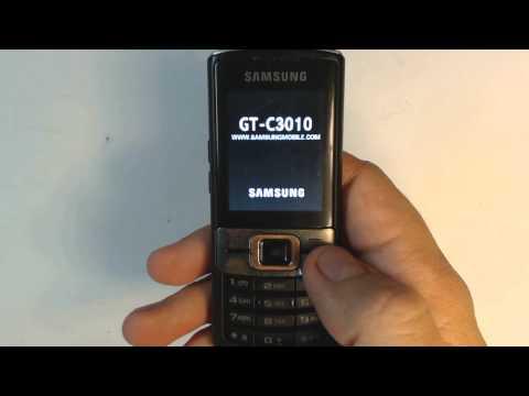 Samsung C3010 factory reset