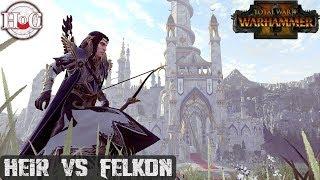 HEIR vs FELKON - Total War Warhammer 2 - Online Battle 290