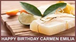 CarmenEmilia  Birthday Spa - Happy Birthday
