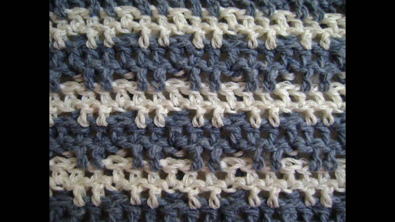 Crochet Triple or Treble Crochet + Front and Back Post ...