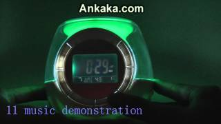 Digital Alarm Clock LED Colorful Changing Light with Aroma Diffusing Function | Alarm Clock Review