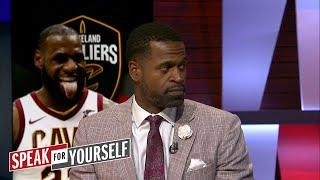 Stephen Jackson on the Cavaliers 10-game win streak, Melo's lineup comments | SPEAK FOR YOURSELF