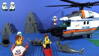 LEGO Coast Guard Heavy-Duty Helicopter Rescue 60166