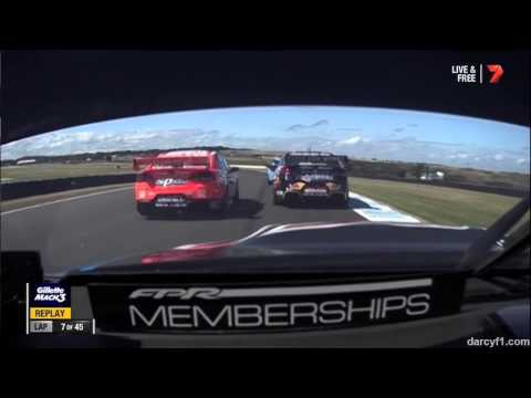 V8 Supercars Phillip Island 2014 Race 3 Start Onboard Winterbottom