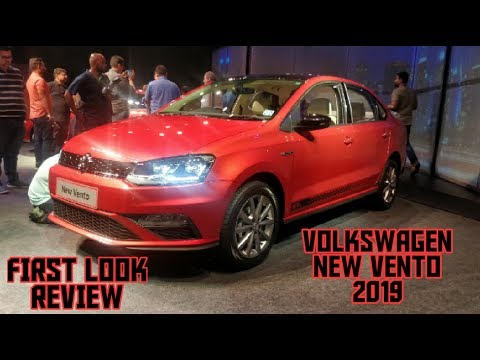 Volkswagen New Vento facelift 2019 launched in India | First look review with prices