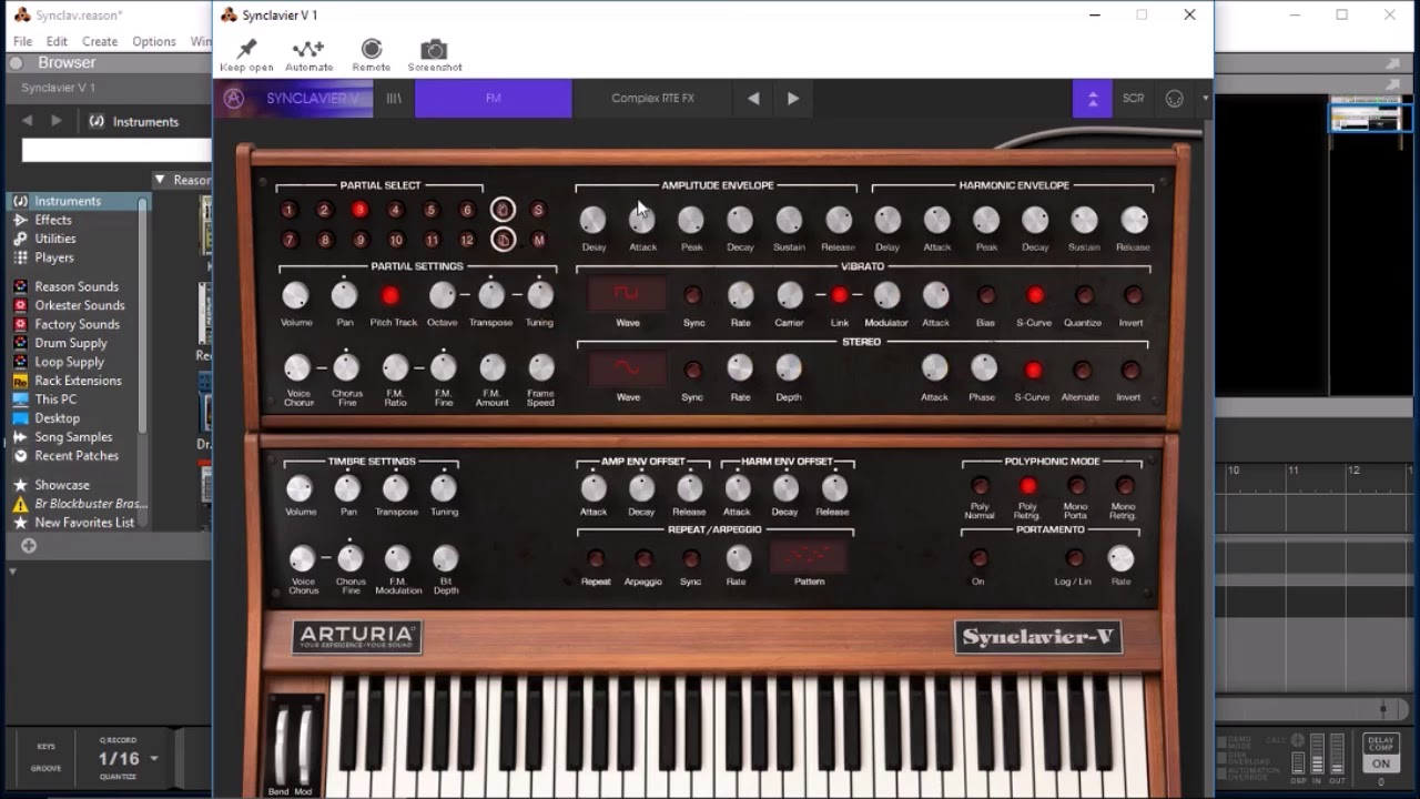 SYNCLAVIER V by Arturia - Let's Surf Some Presets From This Awesome Synth