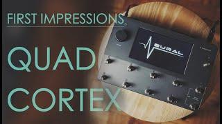 Neural DSP - Quad Cortex / Unboxing & First Impressions
