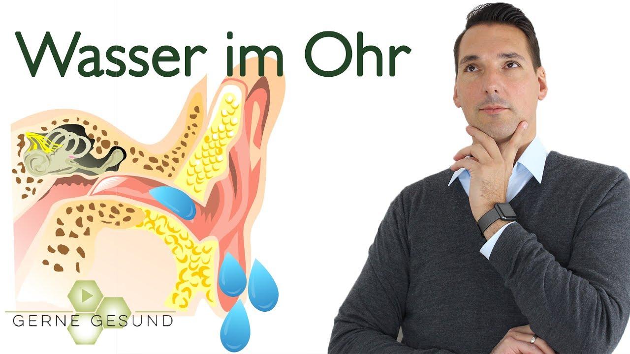 Wasser Im Ohr: Die Besten Tipps Um Es Wieder Raus Zu