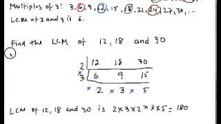 LCM2 Least Common Multiple Part 2