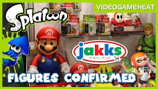 SPLATOON World of Nintendo FIGURES CONFIRMED - Jakks Pacific at New York Toy Fair 2016
