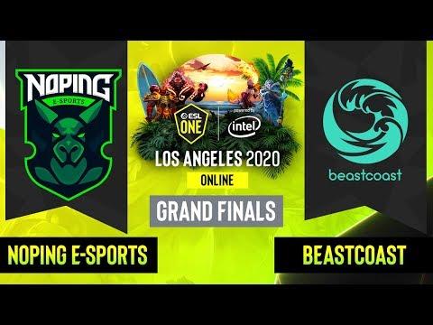 NoPing eSports vs Beastcoast vod