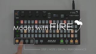 fL STUDIO FIRE   Modes with Akai FIRE