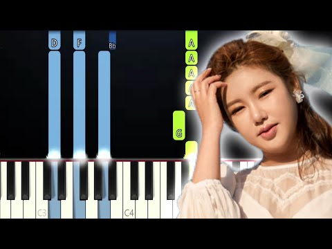Song Ga In - A Picture Of My Mind OST Crash Landing On You (Piano Tutorial)