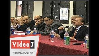 فوز طالب الفنون الجميلة برئاسة اتحاد جامعة الاسكندرية