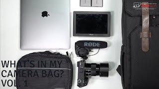 What's Inside My Camera Bag?  Vol. 1
