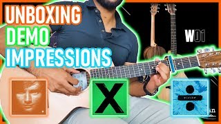Unboxing Ed Sheeran& 39 s New Guitar Sheeran by Lowden W 01 Unboxing Demo First Impressions