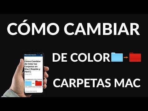 ¿Cómo Cambiar de Color las Carpetas en Mac?