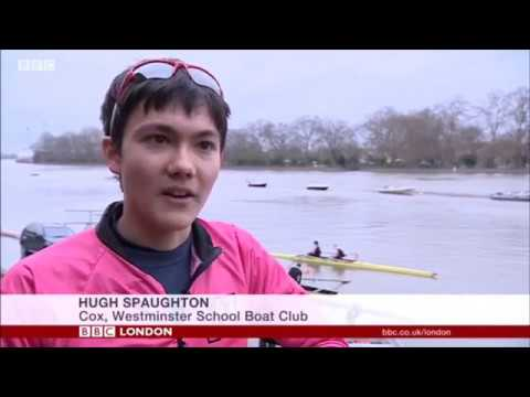 Westminster School Boat Club Coxes on BBC London News 31/03/17