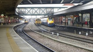 Trains at Nottingham - 07/01/2017
