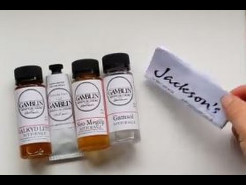 Gamblin Oil Mediums Review
