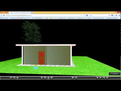 Made house useing VRML