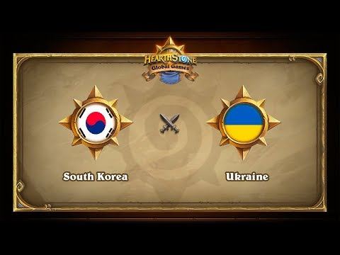 Южная Корея vs Украина, Semi-final, Hearthstone Global Games Finals
