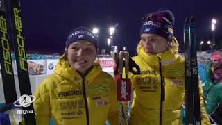 #OST17 Persson and Samuelsson 5th in single mixed relay