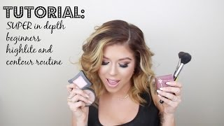 SUPER in depth Highliting, Contouring, Blush, and Bronzer (for beginners) Thumbnail