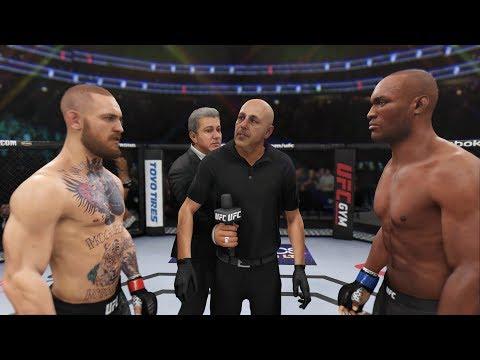 Conor McGregor Vs. Kamaru Usman (EA Sports UFC 3) - Champion Fight