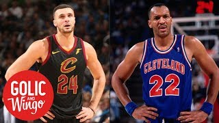 Larry Nance Sr. wants Larry Nance Jr. to wear his retired number for Cavs | Golic and Wingo | ESPN