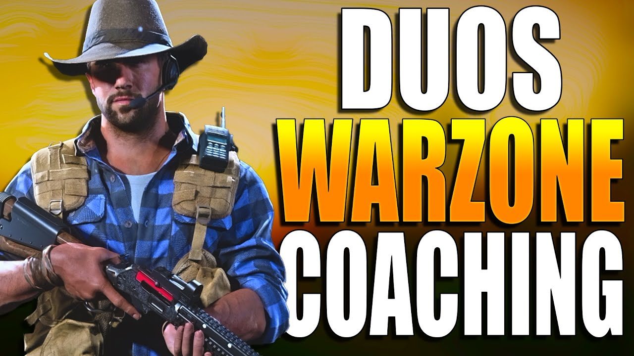 How to Get Better At Warzone DUOS! Warzone Training! (Warzone Duos Tips)